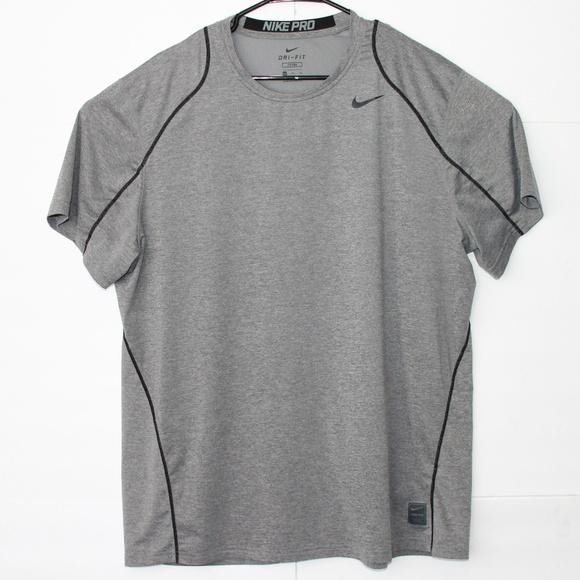 1eb0068a73b6d Nike Shirts | Pro Dri Fit Fitted Xxl Vented Tshirt | Poshmark